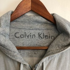 Men's Hooded Calvin Klein Zip Up